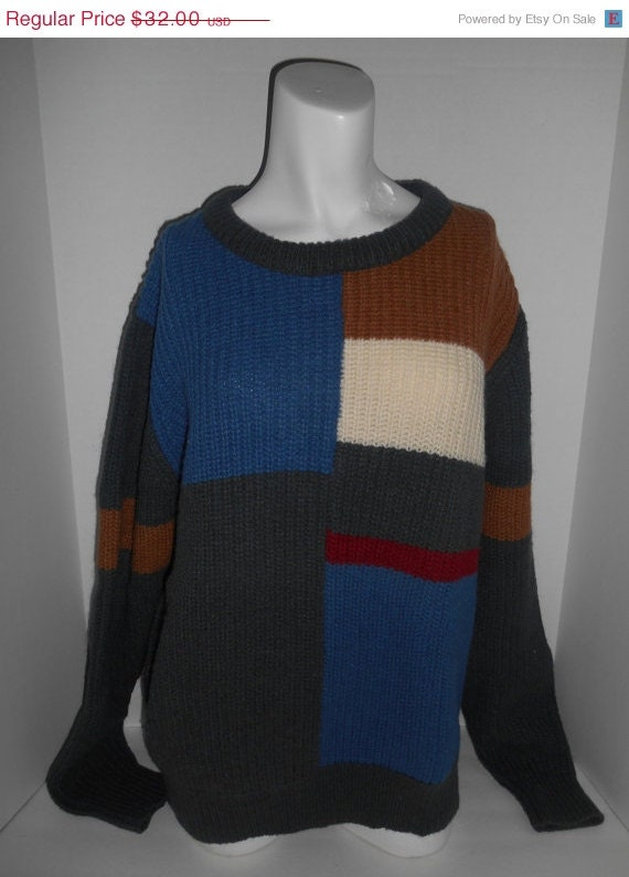 items similar to vintage 80s 90s pullover knit sweater