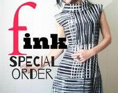 Special Order  - iheartfink Handmade Hand Printed Braided Wrist Band Bracelets