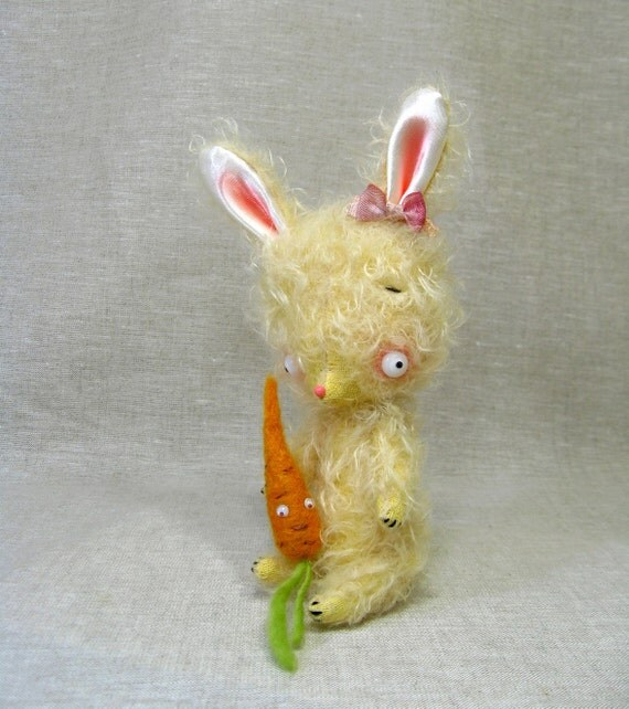 Butter the Mohair Bunny