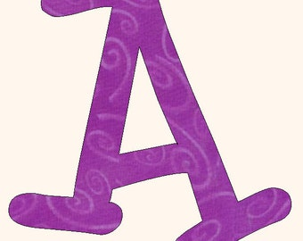Printable Alphabet  Bronagh  Font template pattern in pdf for immediate download.