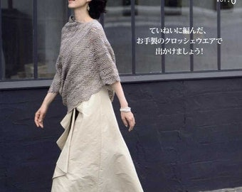 Fall and Winter Crochet Clothes VOL 6 - Japanese Craft Book