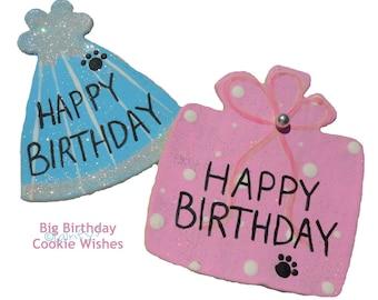 Big Birthday Cookie Wishes