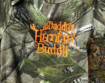 Daddy's Huntin' Buddy Realtree Baby Bodysuit
