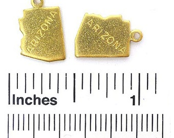 Arizona Charm 12 pieces Raw Brass