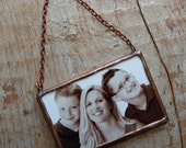 Personalized Christmas Ornament- Family Christmas-First Christmas Photo Ornament-Mr. & Mrs. Photo Ornament