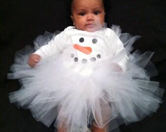 Snowman Tutu