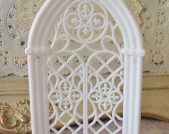 Vintage / Wedding Topper Add-On / Cathedral Window