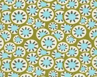 Daisy Chain - Kaleidoscope - By Amy Butler - Leaf - 1 Yard - 6.50 Dollars
