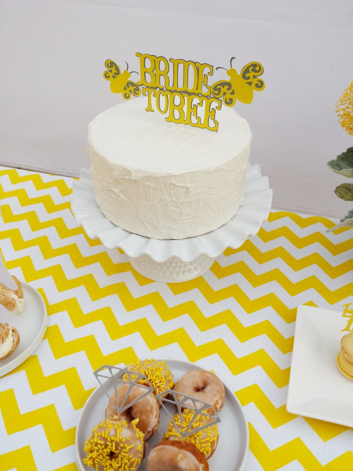 Meant To Bee Cake Topper