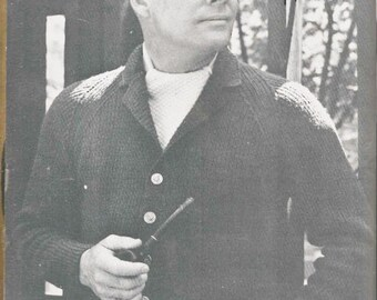 Men's Raglan Cardigan Pattern (MenBern)