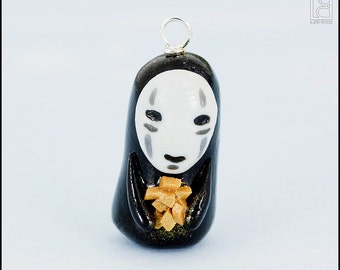 No Face Charm (Made to Order)