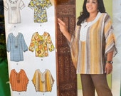 Sewing Pattern Simplicity 2230 Misses' Peasant Blouses Bust 32 - 40 inches Uncut Complete