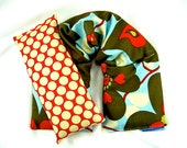 Microwave Heat Pack Set, Neck Wrap Eye Pillow Hot Cold Packs, Heating Pad, Gift For Her-Christmas Gift