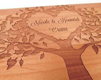 Love Tree - Tree of Life Wooden Photo Plaque