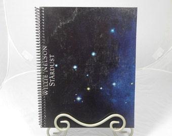 "Willie Nelson ""Stardust"" Original Record Album Cover Notebook"