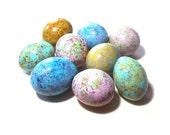 Spring Easter Egg Gourds 9 Easter Basket Bowl Filler Painted Gourds
