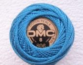 DMC Perle Cotton Thread Size 5 Dark Peacock Blue 806