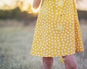Retro 1960's Style Polka dot Tent dress children child clothing