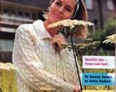Vintage New Idea Magazine Australia July 1966  patterms Recipes Ephemera Audrey Hepburn Advertising Fiction