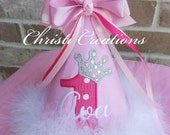 Baby Girl 1st Birthday Party Hat - Made To Match - Photo Prop