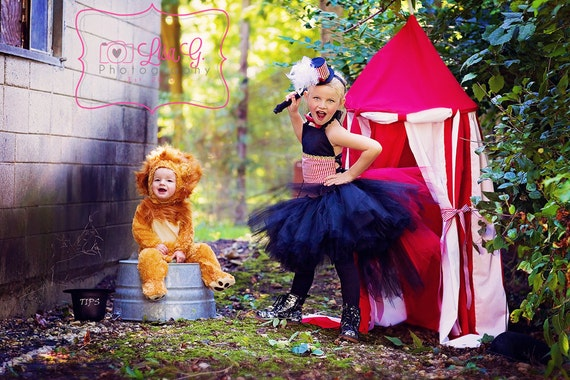 Circus Ringmaster Costume Tutu Set  All Sizes Baby - 8