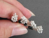"26 Gauge 1.25 Inch Sterling Silver Headpins, Argentium Silver, Handmade Ball 1 1/4"" Headpins, Choose from 20, 50, 100, 500, or 1000 Headpins"