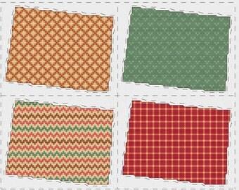 Colorado cross stitch sampler - PDF pattern INSTANT DOWNLOAD