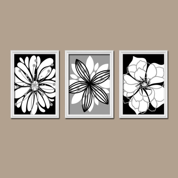 Black And White Wall Decor For Bedroom : Black white wall art bedroom pictures canvas or by trmdesign