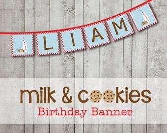 Milk & Cookies Banner