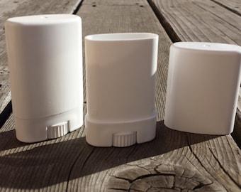 White Deodorant Tubes