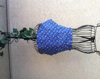 BLUE GARDEN BONNET Apron