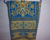 vintage bath towel