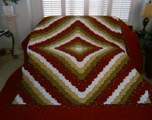 Ocean Wave Quilt by Lillian K. - Custom Made is also Available