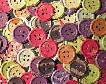 Global Views Safari Paper Button Embellishments