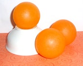 Sweet Temptations Soap Sphere Apricot and Apricot Blossom Handcrafted Glycerin Soap Bar Ball 4.5 Ounces
