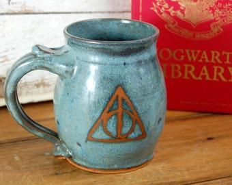 Deathly Hallows Mug - Made to Order