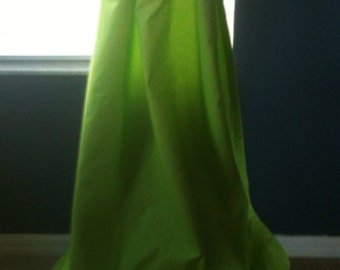 "Chartreuse 40"" x 108"" Grommet Drapes - lined - ready to ship"