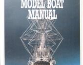 Period Model Boat Manual FD Conte