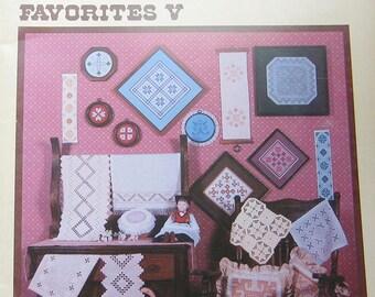 Hardanger Embroidery Favorites V Pattern Book