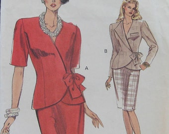 Very Easy Vogue Top Skirt Pattern 7746