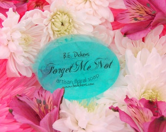 Forget Me Not Soap from the Flower Garden