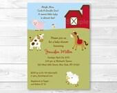 Cute Farm Animal Baby Sho...