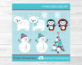 Winter Wonderland Clipart...
