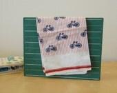 Vintage Echo Bicycle Scarf or Handkerchief