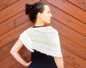 KNITTING PATTERN- Gowan Shawl PDF Download