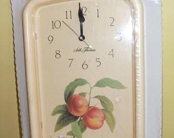 Vintage Seth Thomas Quartz Kitchen Wall Clock - Original Packaging