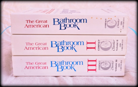 Items Similar To The Great American Bathroom Book Single
