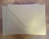 Antique Gold Metallic Envelopes - Set of 400