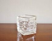 Modern vintage Rosenthal crystal vase