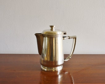 Vintage Hilton Hotel silver plated creamer